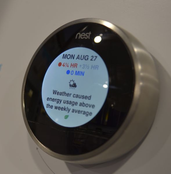 Fichier:Nest Learning Thermostat (cropped).JPG